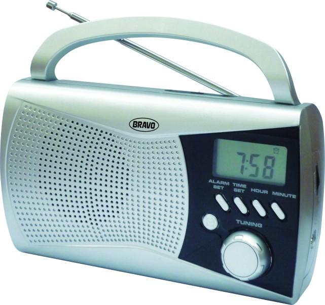Rádio digitální Bravo STŘÍBRNÉ B-6010