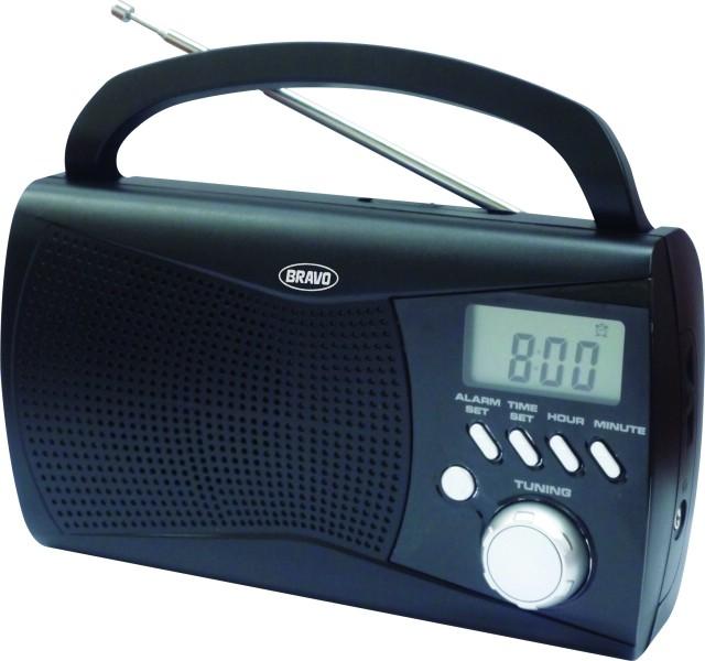 Rádio digitální Bravo ČERNÉ B-6010