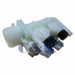 Ventil napouštěcí 2 - cestný se svorkovnicí do pračky Ariston - Indesit 154AR02