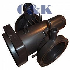 Těleso filtru - příruba čerpadla ORIG. do pračky LG 3108ER1001A