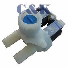 2 - cestný ventil 90° rohový se svorkovnicí do pračky Whirlpool  154IG01
