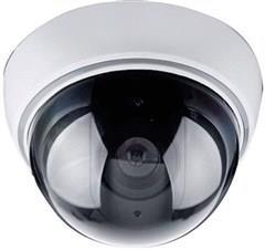 Maketa bezpečnostní kamery Solight, na strop, LED dioda, 3 x AA 1D41