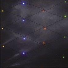 Vánoční dekorativní osvětlení - Síť se 120 barevnými LED, 2,5x1,5m 23751500