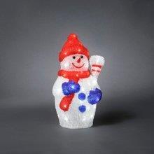 Vánoční dekorativní osvětlení - Sněhulák barevný se 48 LED 26154203