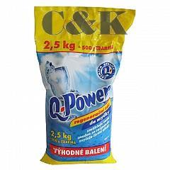 Sůl do myčky Q Power - regenerační sůl 2,5kg + 500g