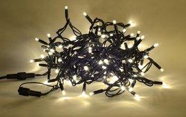 Vánoční LED řetěz LED-200 TB PROFI teplá bílá, 200 VELKÝCH LED, délka 30m