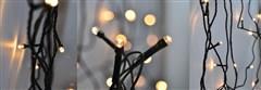 LED řetěz Solight, 300 LED, 30m, přívod 5m, IP44, teplá bílá 1V04-WW