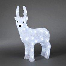 Vánoční LED dekorační jelen 6157-203, 40 bílých LED
