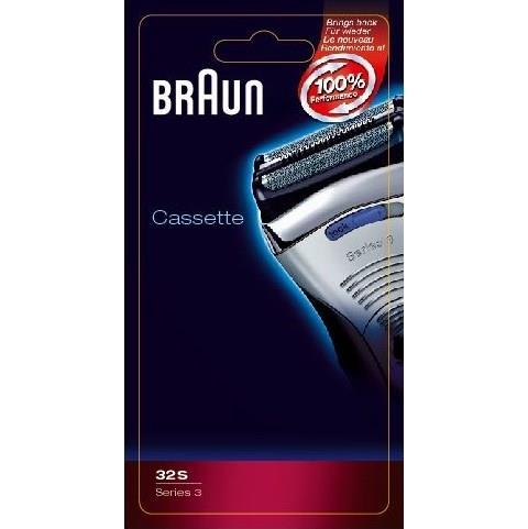 Planžeta / fólie / + břit do holícího strojku Braun Series3 - 32S stříbrný