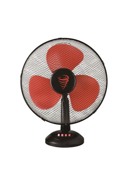 Stolní ventilátor KALORIK VT 1016R, 30cm, 40W, černo-červený