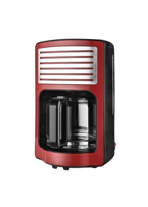 Kávovar KALORIK CM 2500, 1000W, 1,8l, červený
