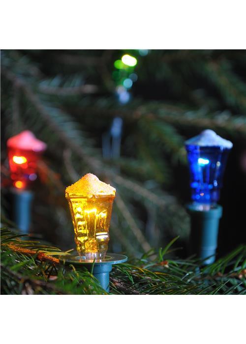 Vánoční souprava Lucerna barevná TV-12, 12 žárovek 20V/0,1A