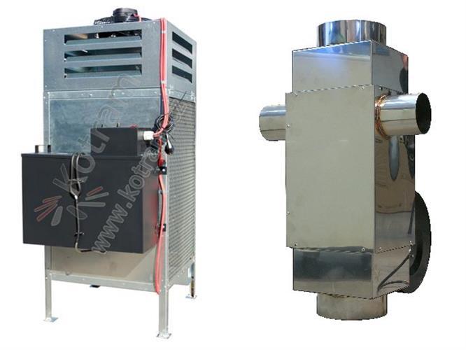 Kamna na olej MTM 8-30 kW+Ekonomizér Spalin 270m3/h