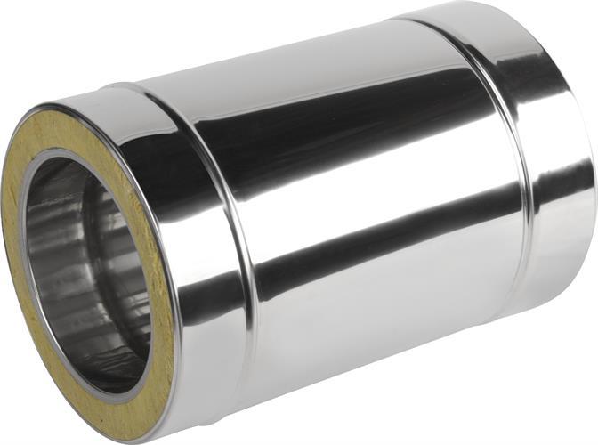 Komínová roura nerezová dvouplášťová 250(mm) 150/220