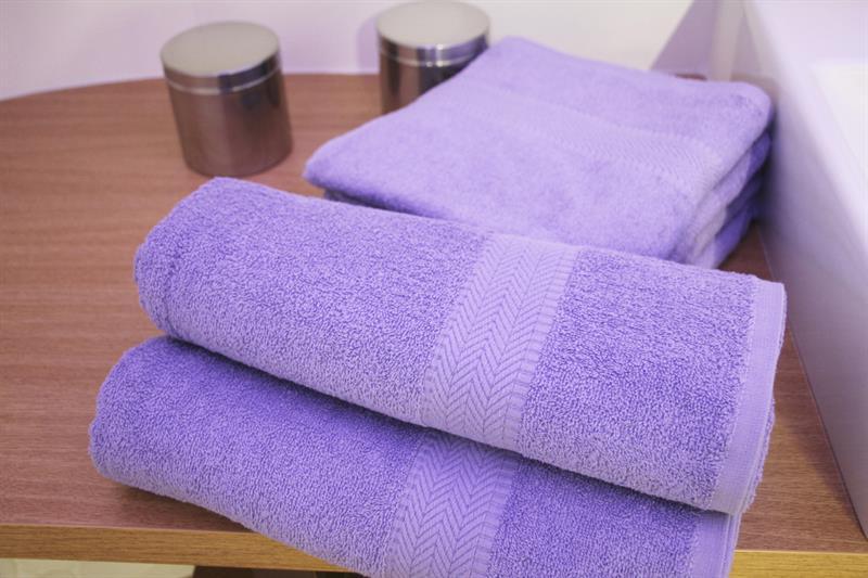Froté osuška fialová 70x140 cm, 100% bavlna