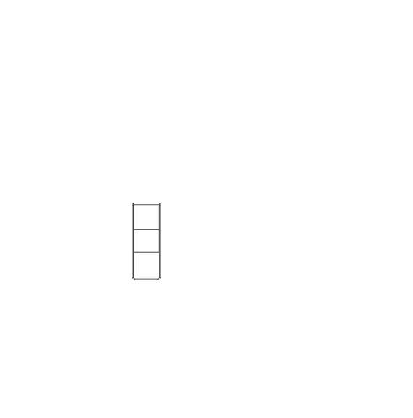 Závěsná komoda Medea Jitona 1 dveře, nika  - AKCE