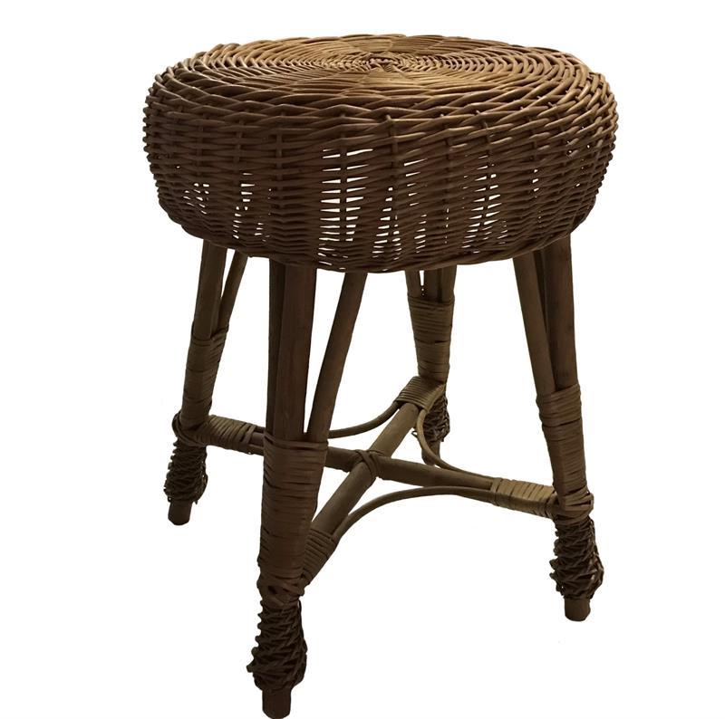 Proutěná stolička