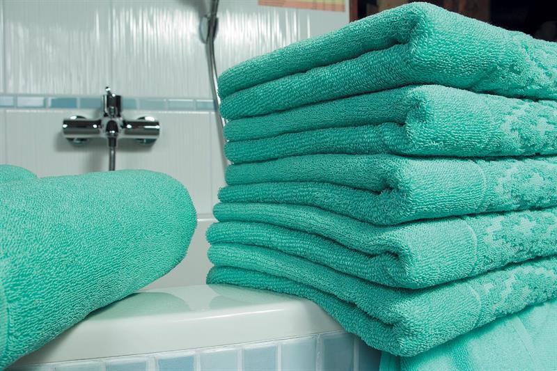 Ručník nefrit zelená 50x100 cm, 100% bavlna