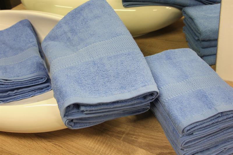 Froté ručník světle modrý 50x100 cm, 100% bavlna