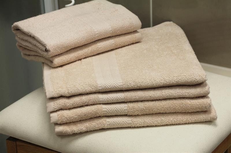 Froté ručník smetanová 50x100 cm, 100% bavlna