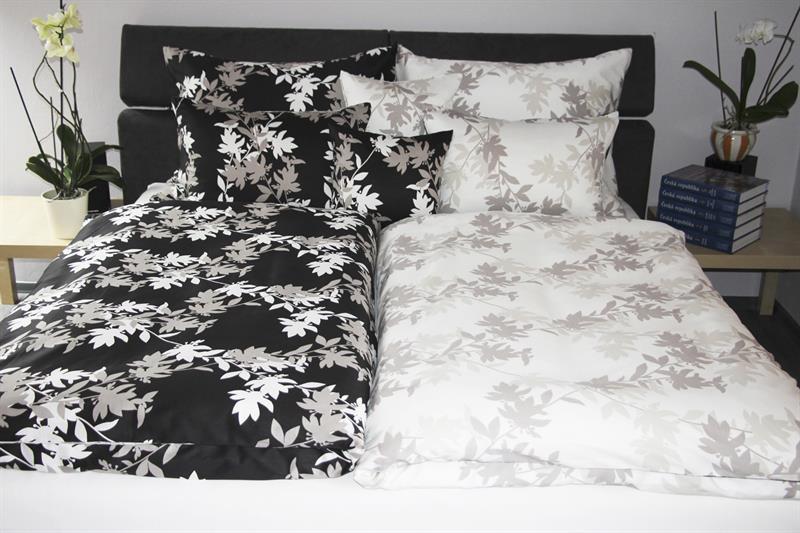 Saténové povlečení Bella-Edward 140x200 cm, 70x90 cm, 100% bavlna - akce 1+1 zdarma