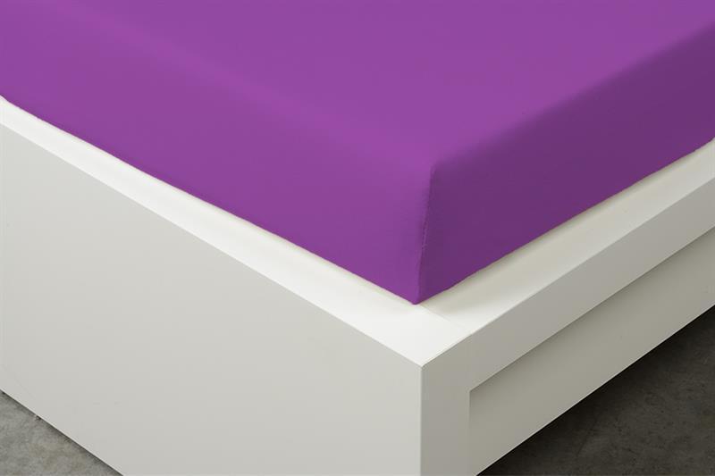 Prostěradlo Jersey fialové 90x200