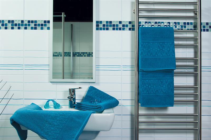 Osuška nefrit modrá 70x140 cm, 100% bavlna