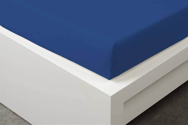 Prostěradlo Jersey tmavě modré 90x200