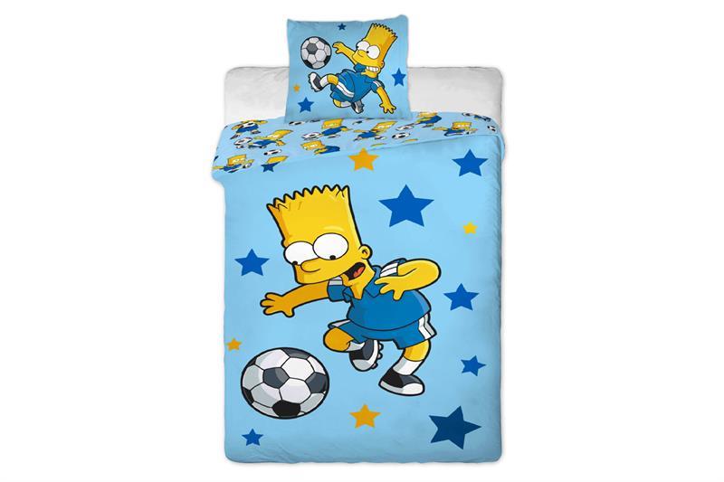 Bavlněné povlečení Simpsons - Bart 140x200 cm, 70x90 cm, 100% bavlna
