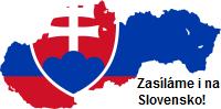 Zasíláme i na Slovensko!