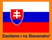 Zasíláme i na Slovensko!
