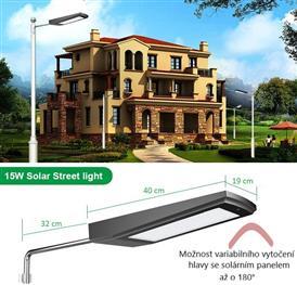 Solární LED pouliční svítidla IQ-ISSLSolární LED venkovní svítidla IQ-ISSL