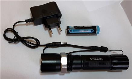 LED dobíjecí PROFI - outdoor svítilna 500 lm