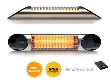 Infrazářič BLADE se 4 stupni regulace výkonu : 800 / 1200 / 1600 / 2000W. Rozměr 920 x 170 x 70 mm, hmotnost 2,5kg. Vestavěný digitální termostat pro automatickou regulaci topného výkonu.