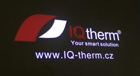 LED logo projektory IQ-PROMOTION pro světelnou reklamu