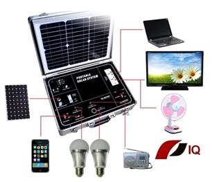 Solární napájecí systém IQ-POWER