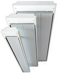Vysokoteplotní panel IVT 24, antikorozní povrchová úprava, 2x topná lamela, rozměr 1500 x 230 x 50 mm, hmotnost 11kg
