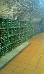 Sklep v Nových Bránicích, kde jsou uložena přívlastková vína v nerezovích tancích a archivní vína v lahvích. Lahví je zde uloženo téměř 20 000 ks.