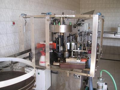 Nově vybudovaná provozovna v Nových Bránicích pro skladování vína, plnění vína do lahví a jeho expedici.