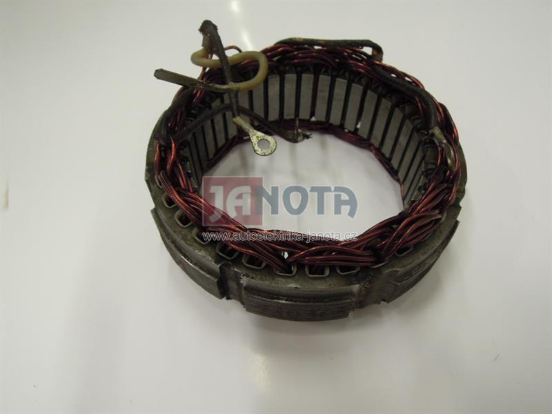 Stator alternátoru s regulátorem LADA, 4 vývody, 12V/42A