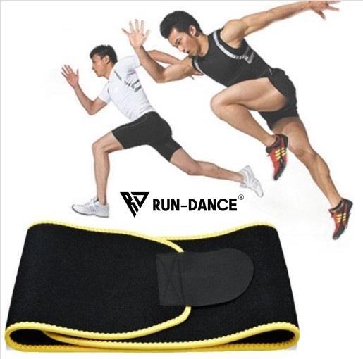 Sportovní bederní thermo pás RUN-DANCE pro muže
