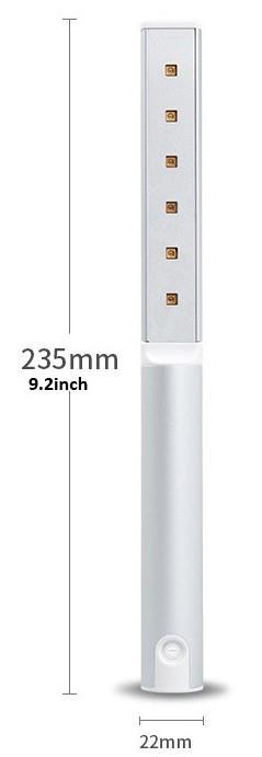 Dezinfekční UV lampa IQ-UVP6 Mini profi model