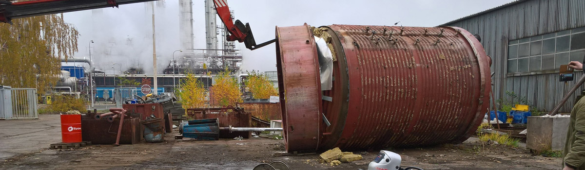 Servis plazmy Pegas 160 CNC u zákazníka.