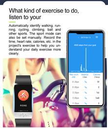 Fitness chytrýnáramekI-SPORT Health
