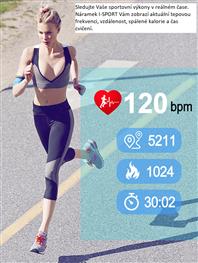 Fitness chytré náramky I-SPORT