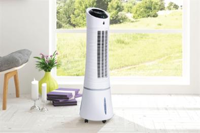Ventilátor IQ-AERO D s ionizérem a funkcí EXTRA chlazení