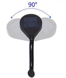 LED solární svítidlo IQ-ISSL 12 SH