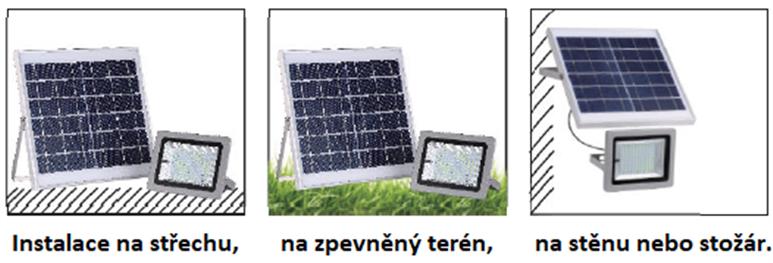 Solární svítidlo IQ-ISSL 40R