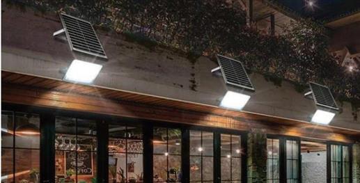 LED svítidla se samostatným solárním panelem IQ-ISSL HEG