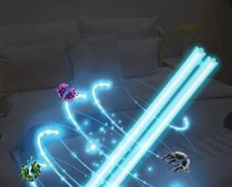 Dezinfekční antibakteriální UV lampa IQ-OSL s generátorem ozónu